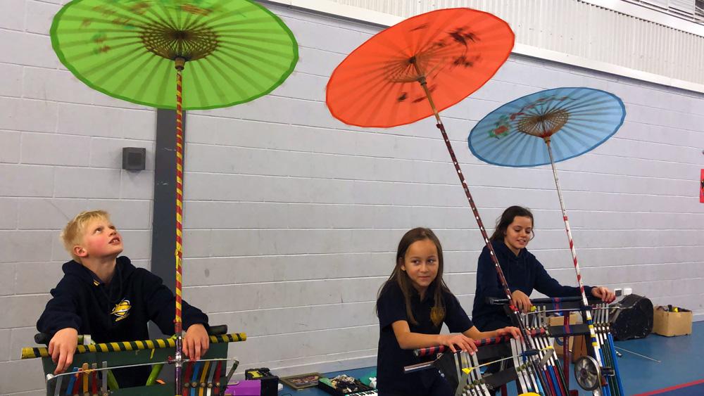 Jon Madin Music Workshop wows students