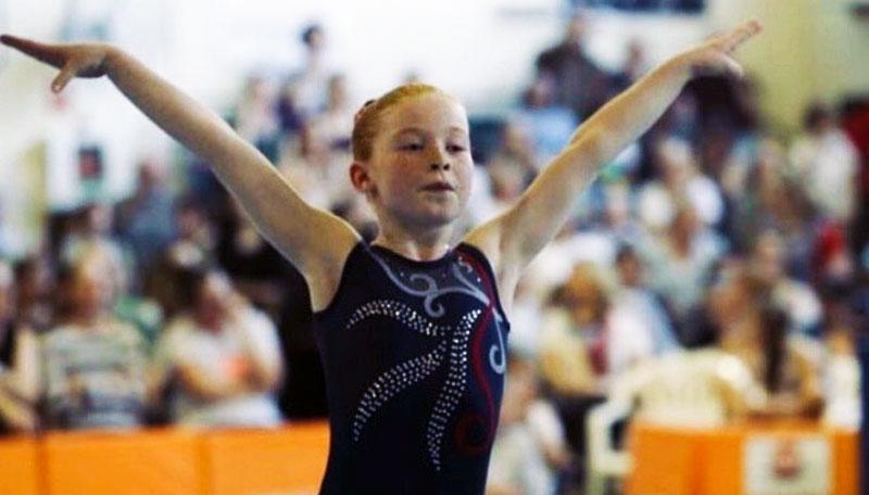 Mia joins gymnast elite
